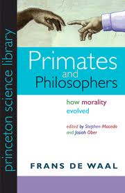 Cover of Primates and Philosophers