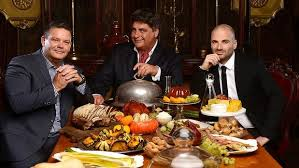 MasterChef judges and food