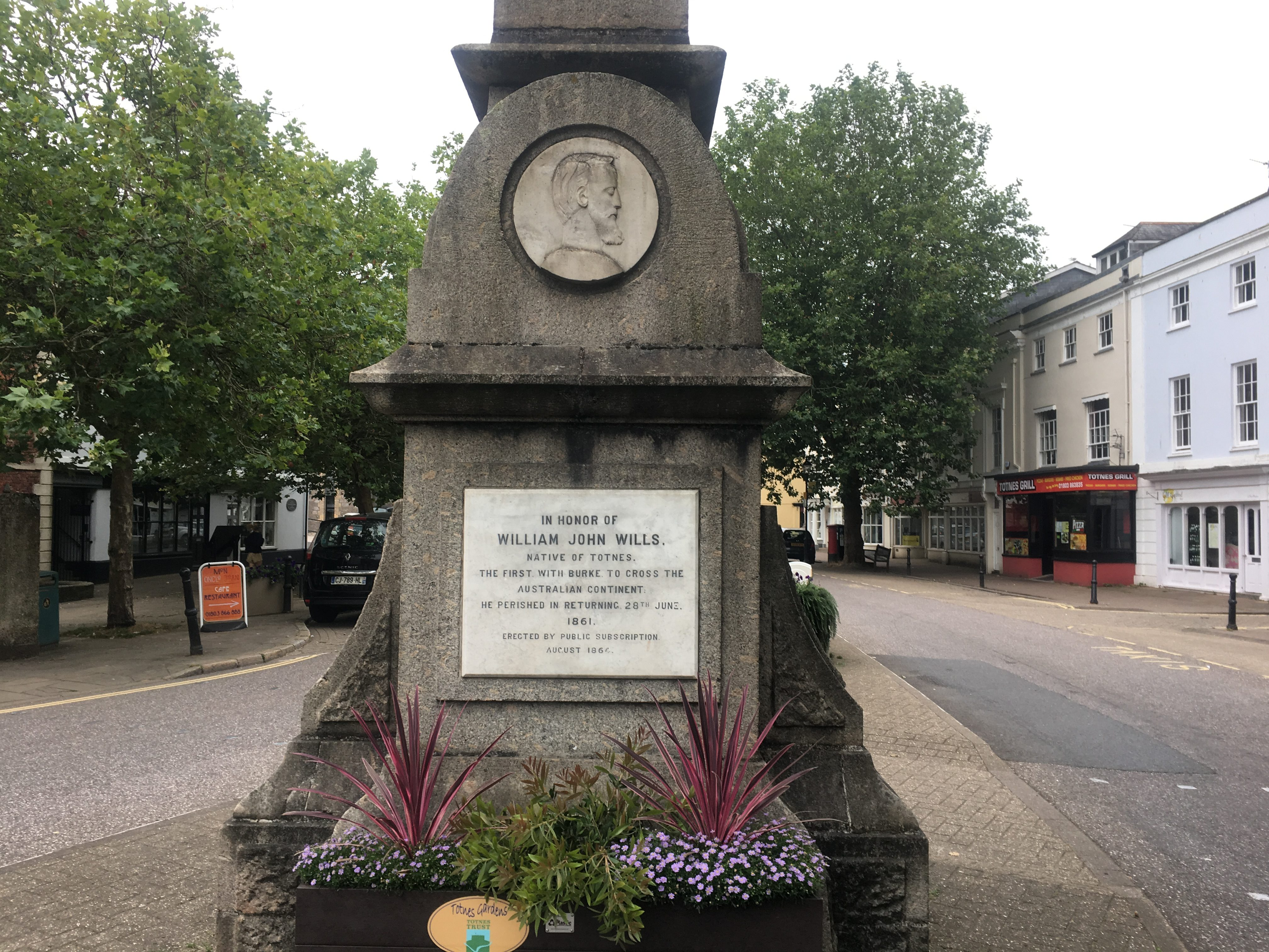 Totnes is famous for many things - for an Australian - Wills! From Bourke and ...