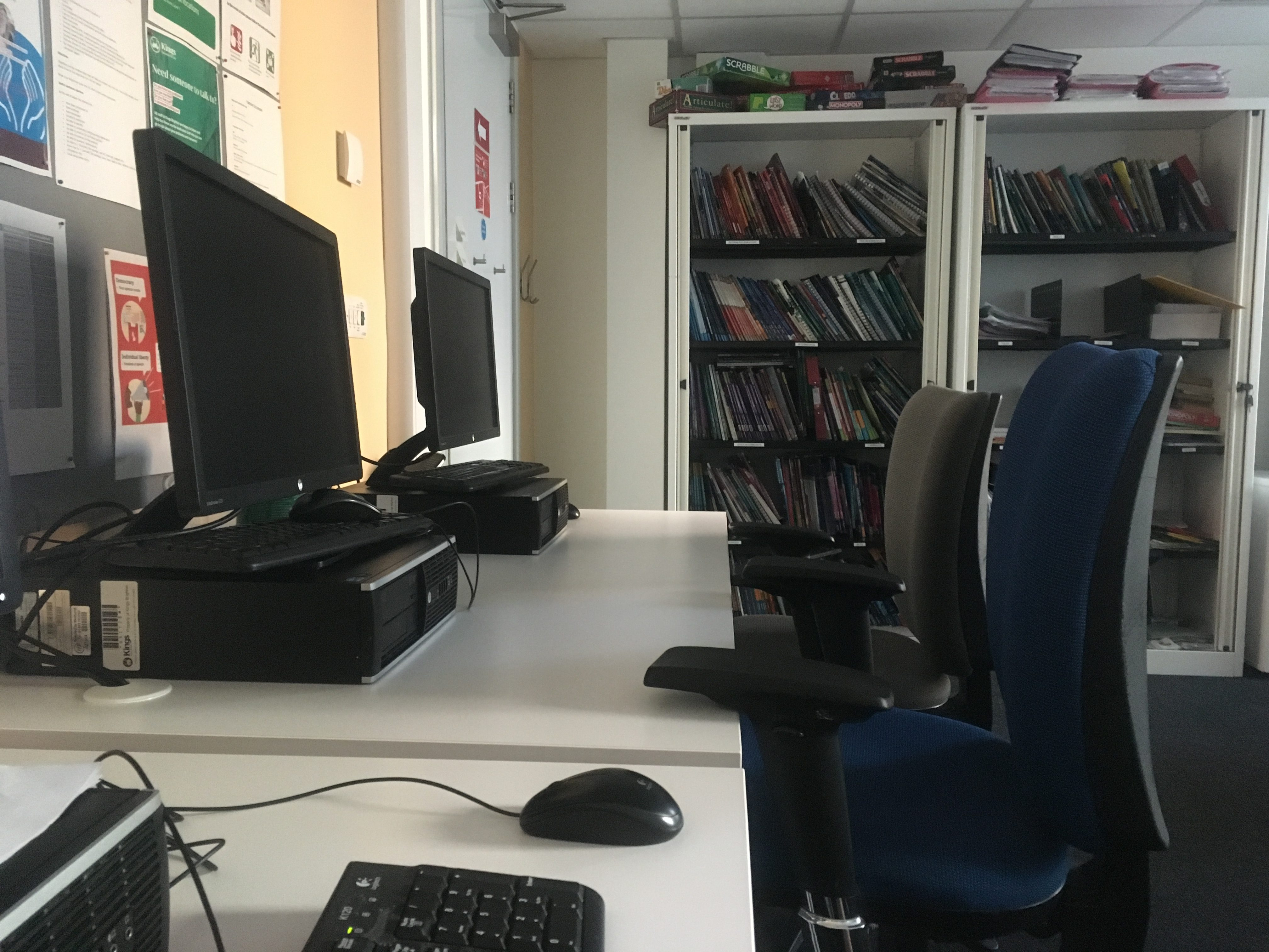 Kings Education Brighton English Teachers Office