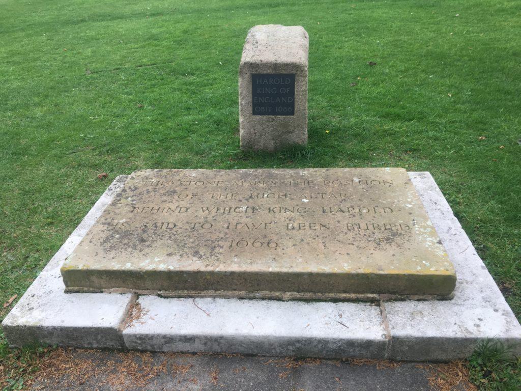 Memorial to King Harold 1066