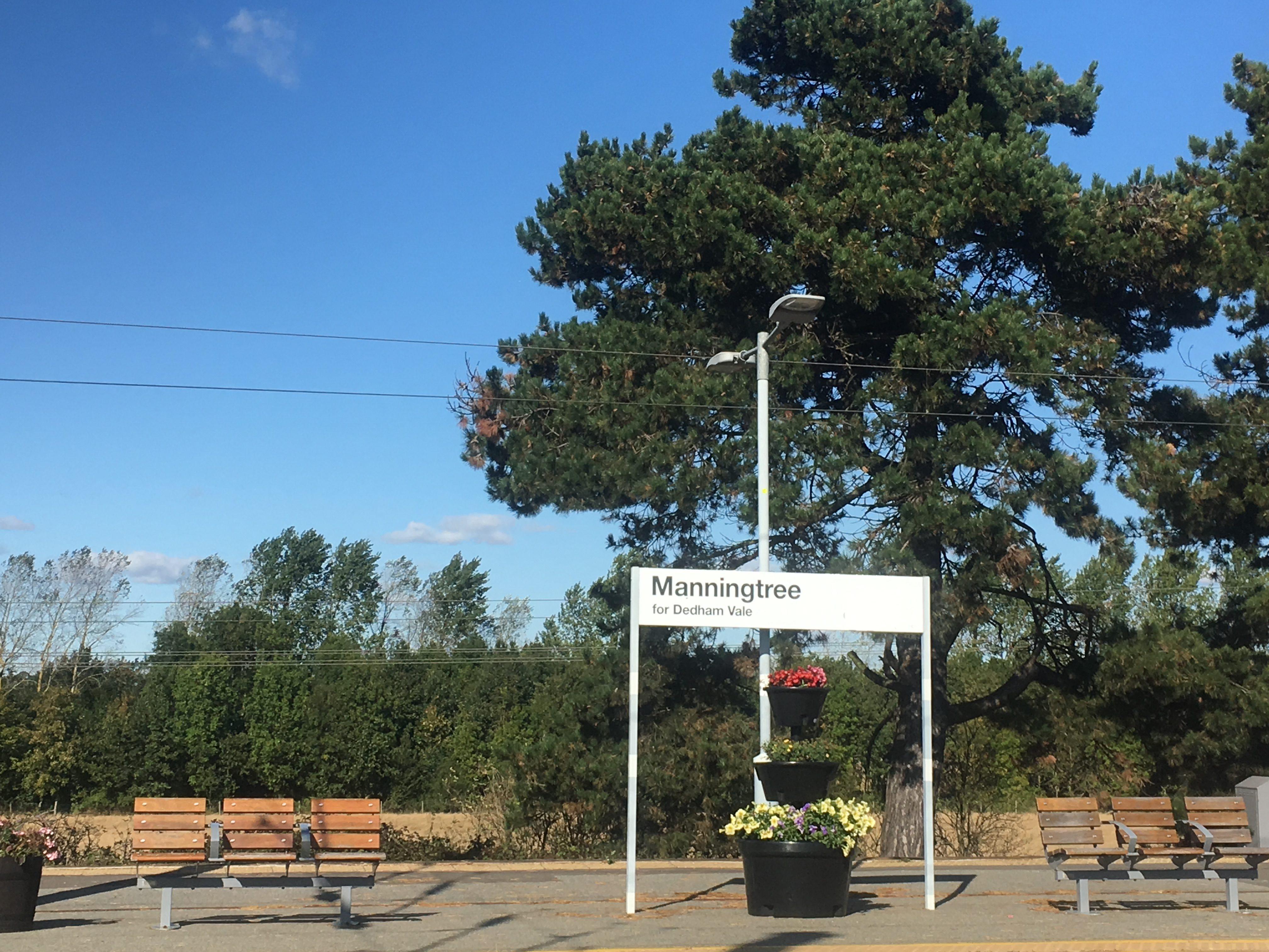 Dedham Vale for Manningtree and visa versa