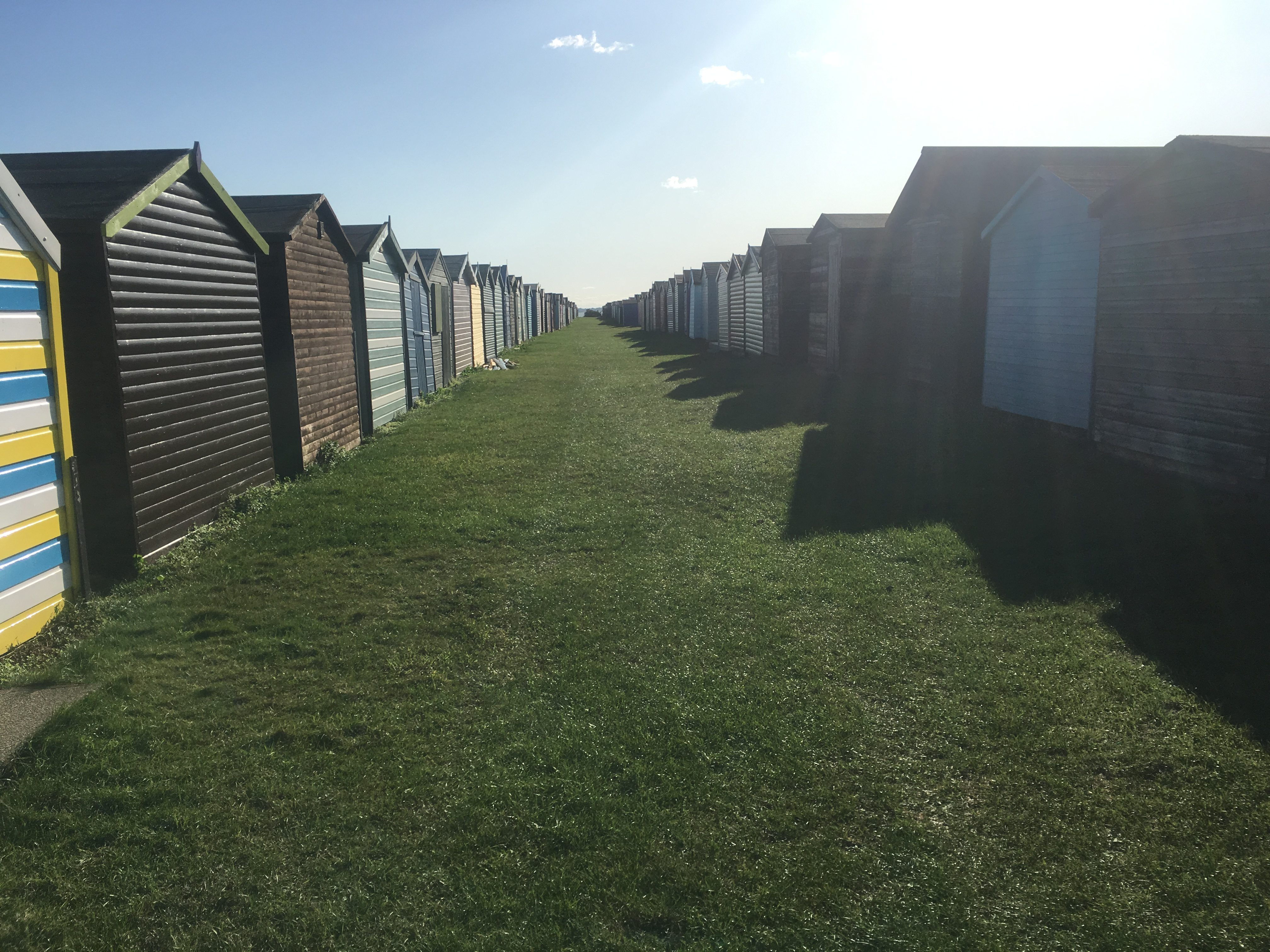 Harwich takes their beach boxes seriously