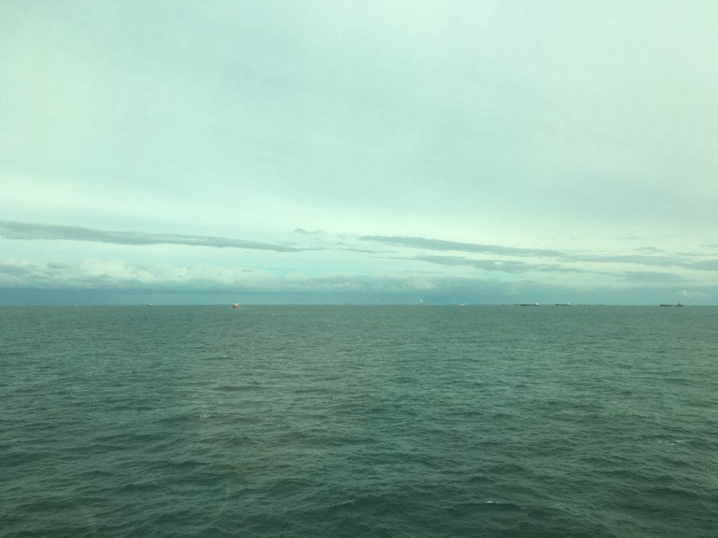 Ahoy! Hoek of Holland on the horizon!