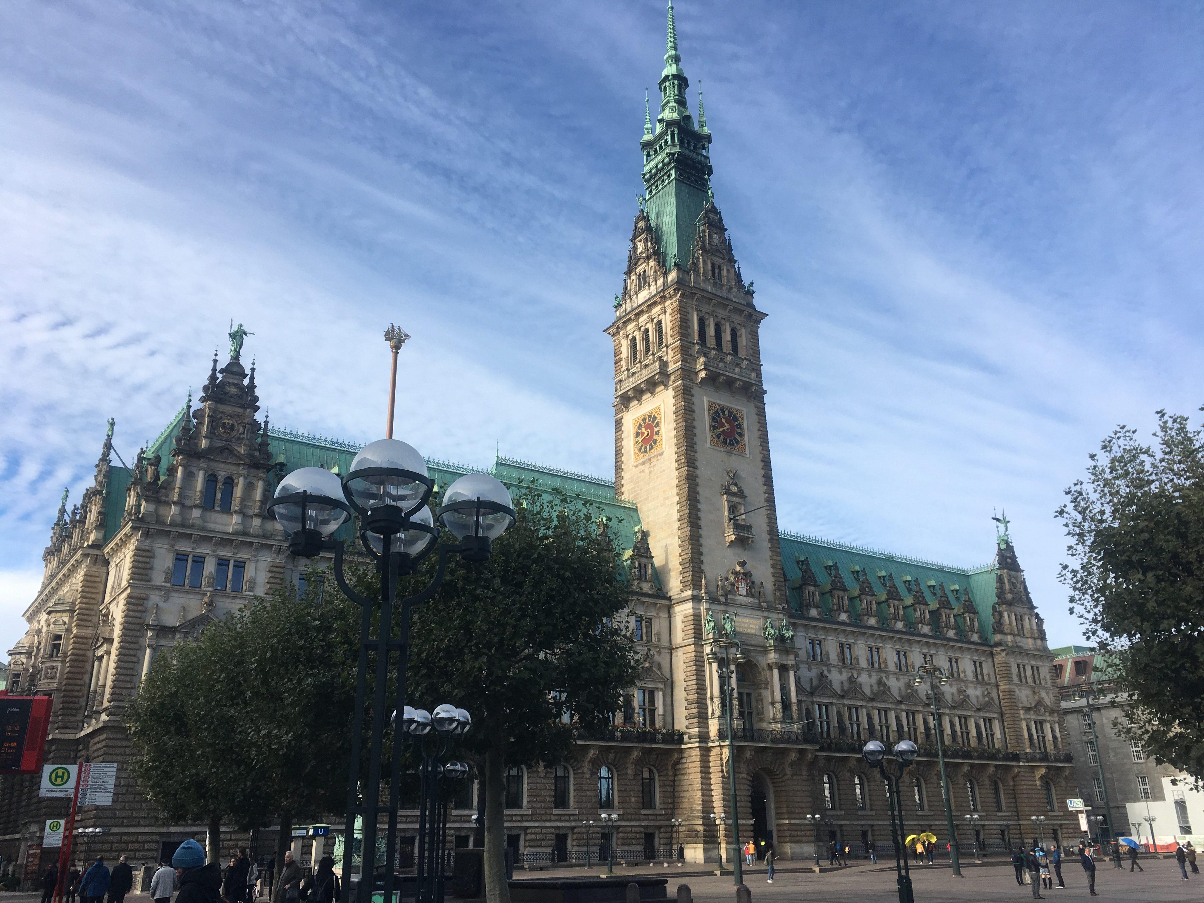 Hamburg Rathaus