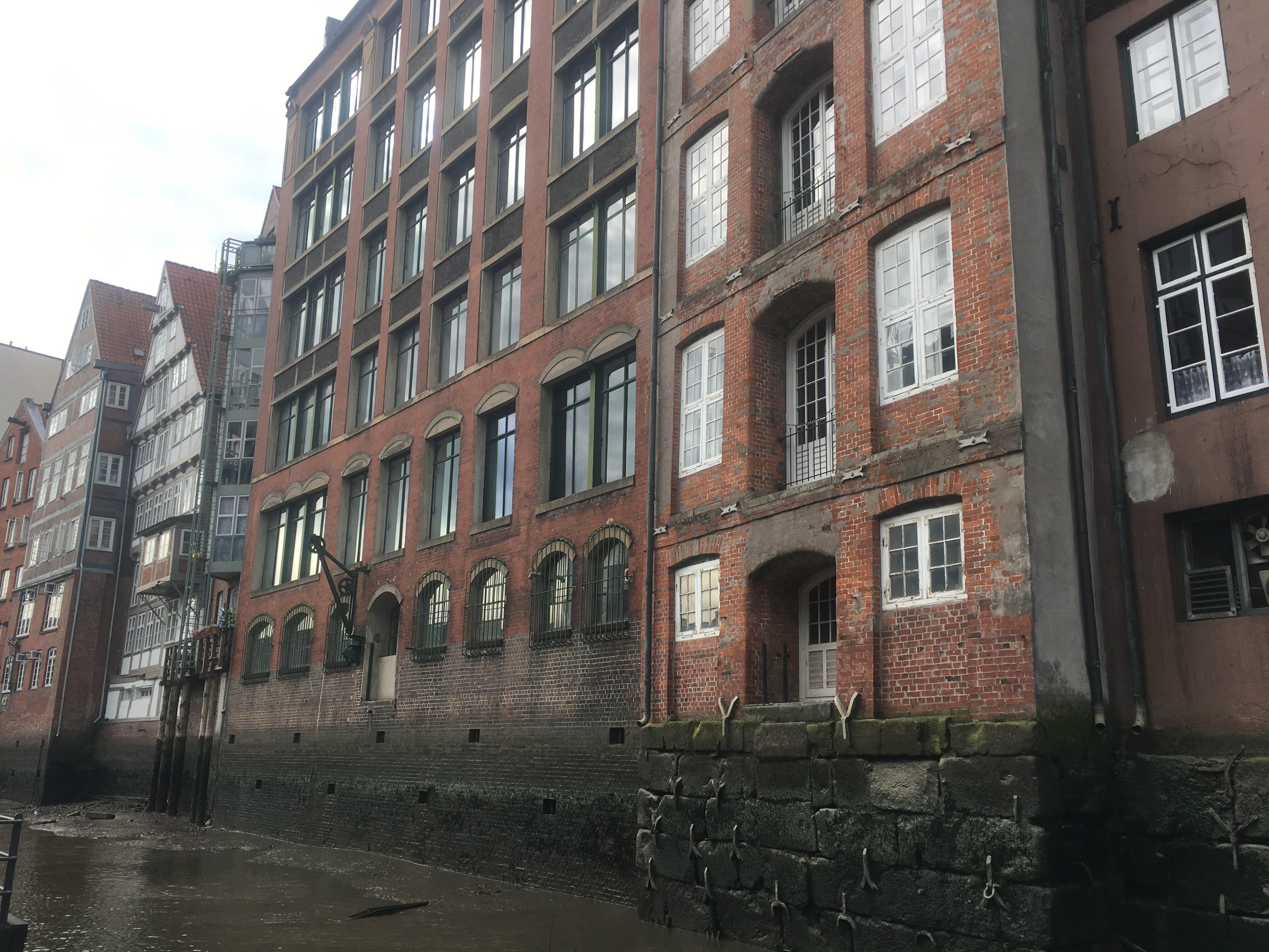 Sixteenth century houses in Hamburg