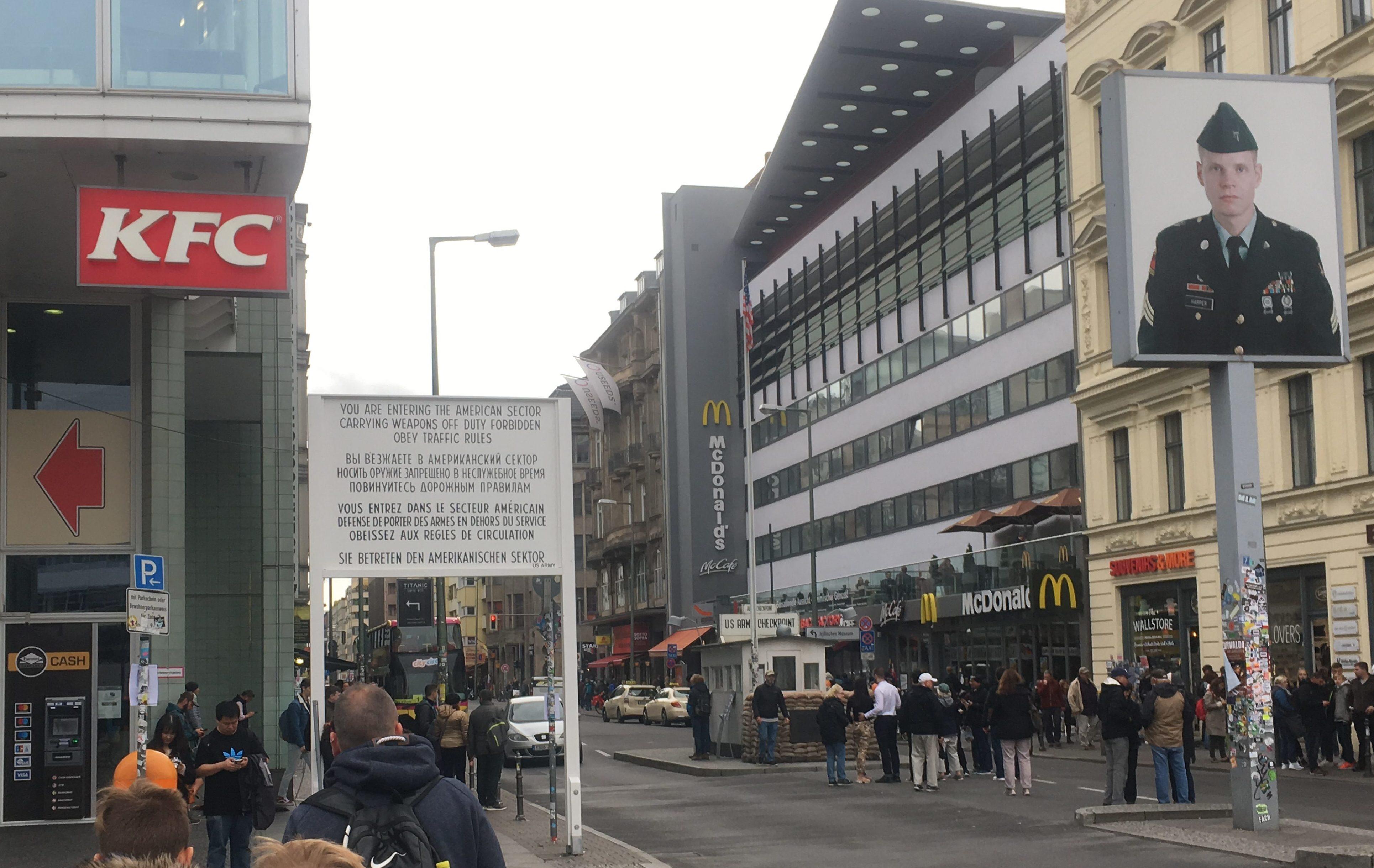 KFC and Macdonalds Checkpoint