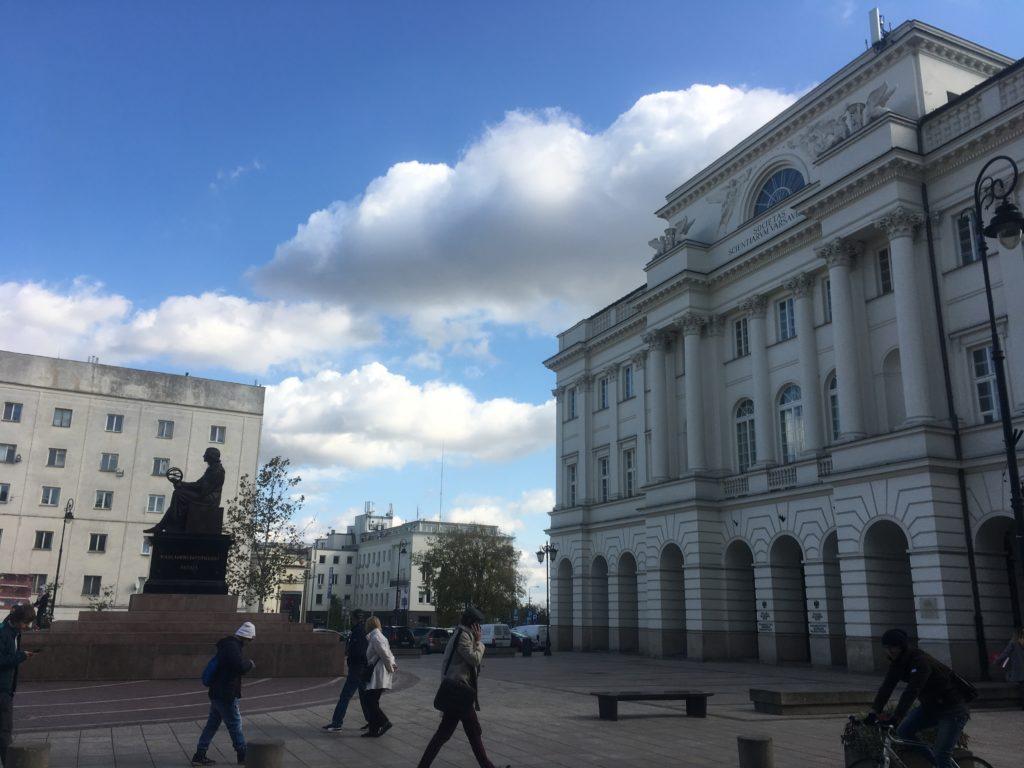 Copernicus guards a museum