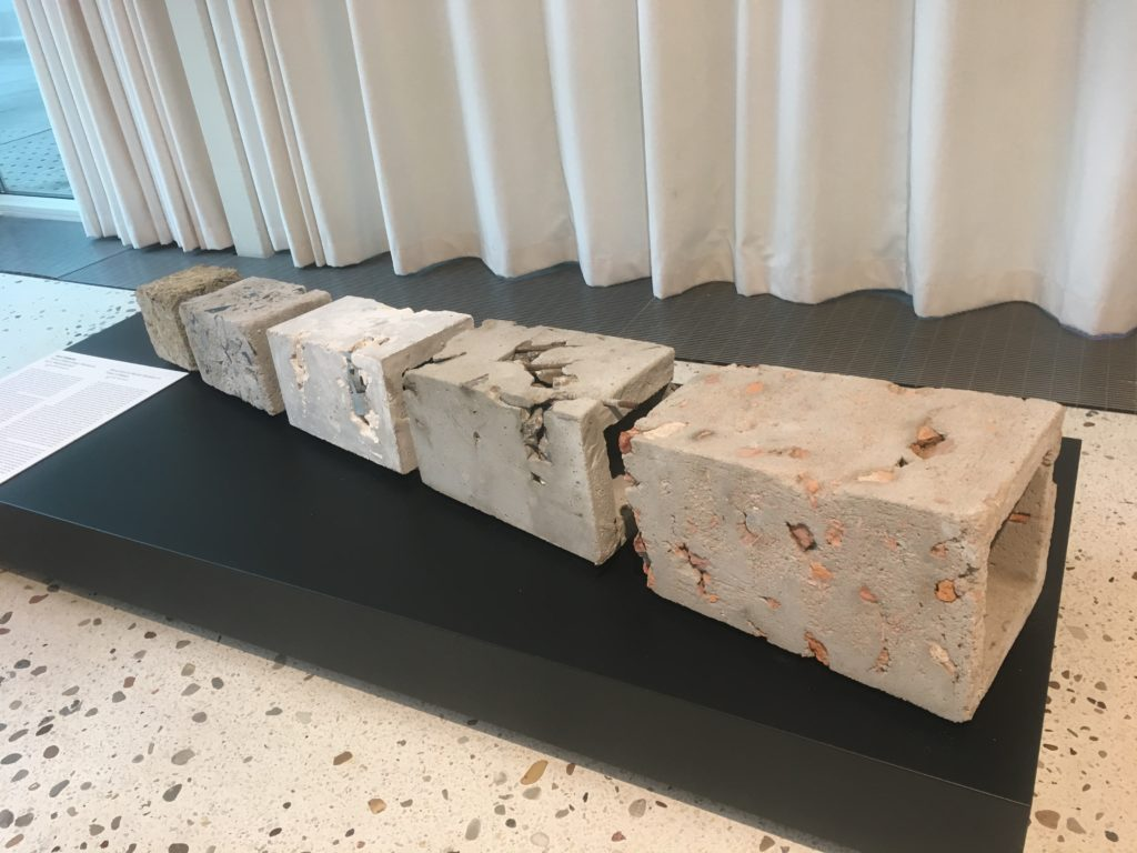 Monument to monuments from Pomniko Mania at Museum of Modern Art