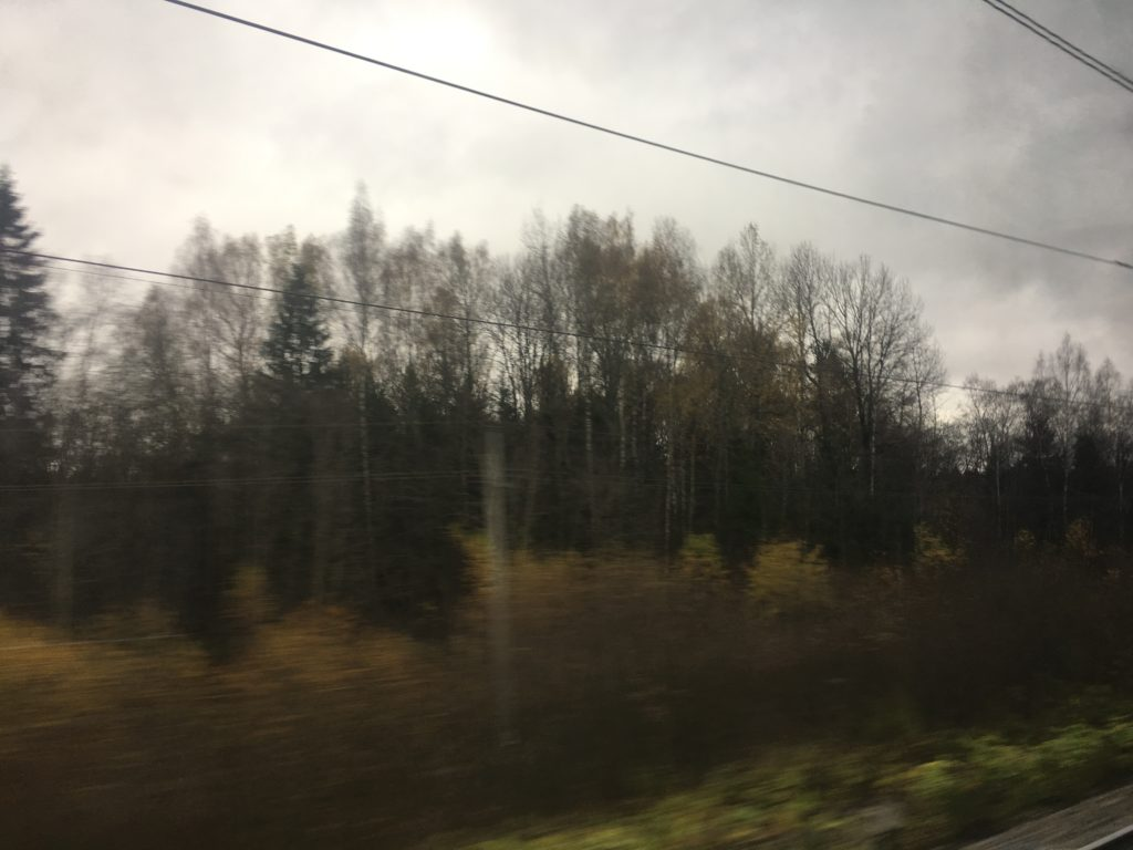Autumn came to Russia already