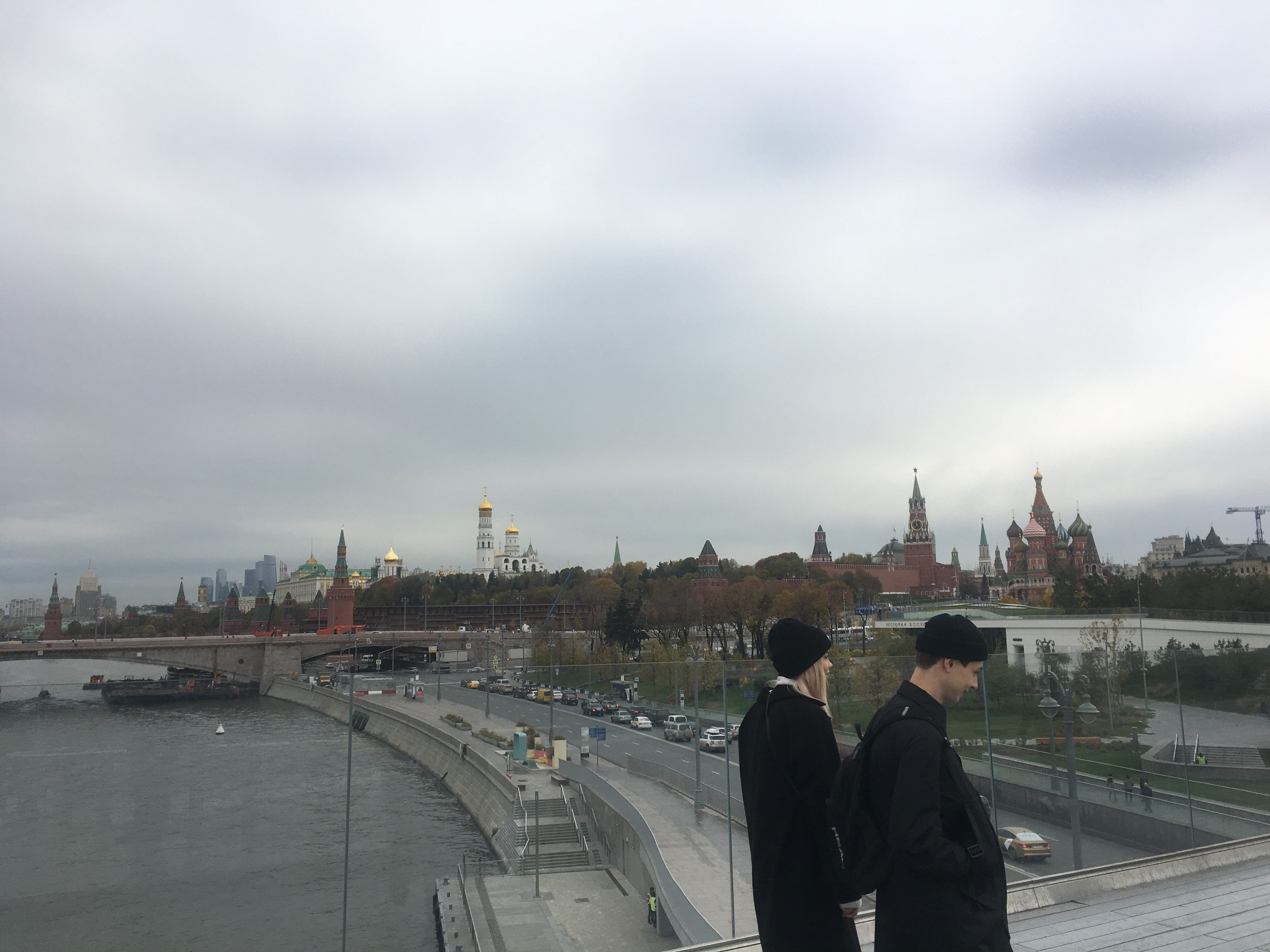 The Kremlin from the overhanging almost-bridge
