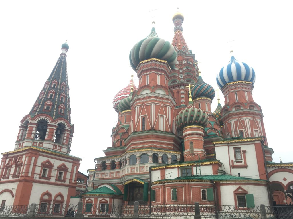 St Basil's Cathedral is nine churches in one