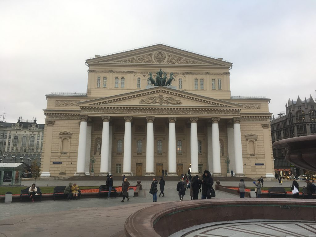 The Bolshoi with flying horses