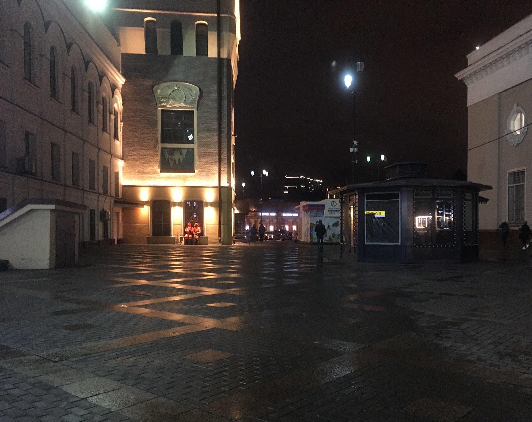 Waiting by Yaraslavskiy Station