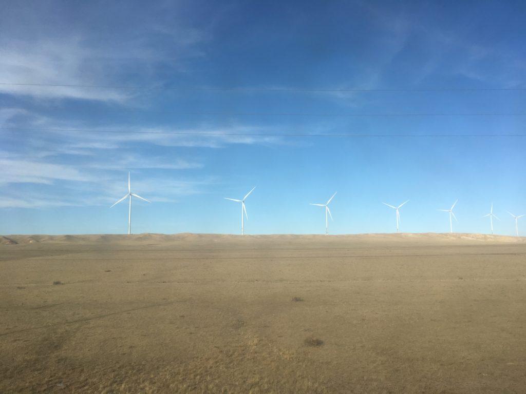 Change occuring in Mongolia, near Dornogovi