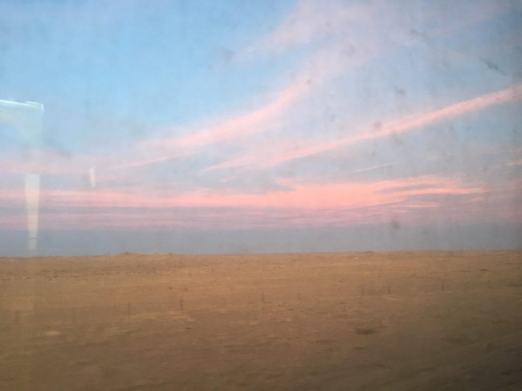 Dusk over Dornogovi - Mongolia