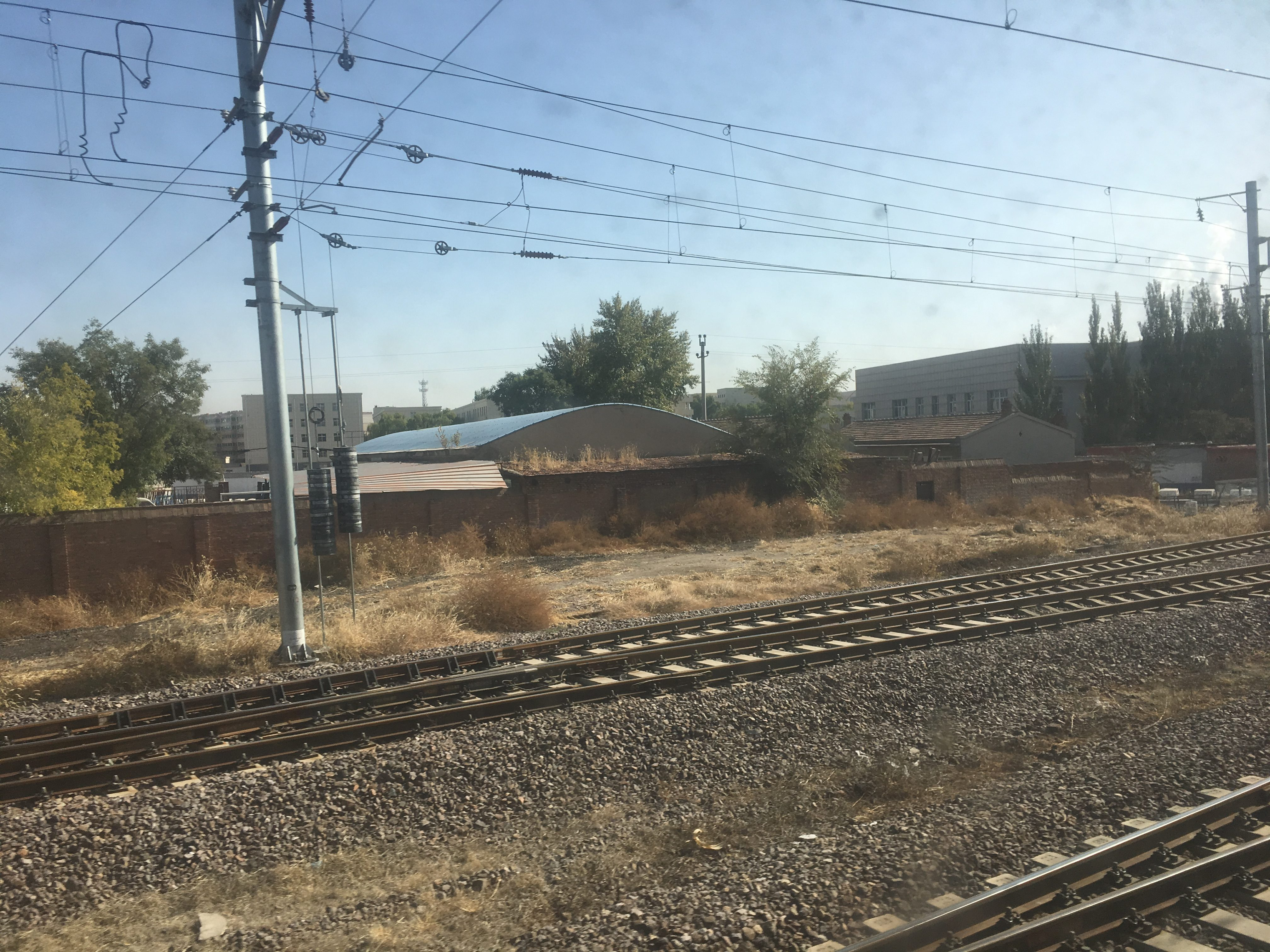 Chinese double tracks as we get closer to Beijing