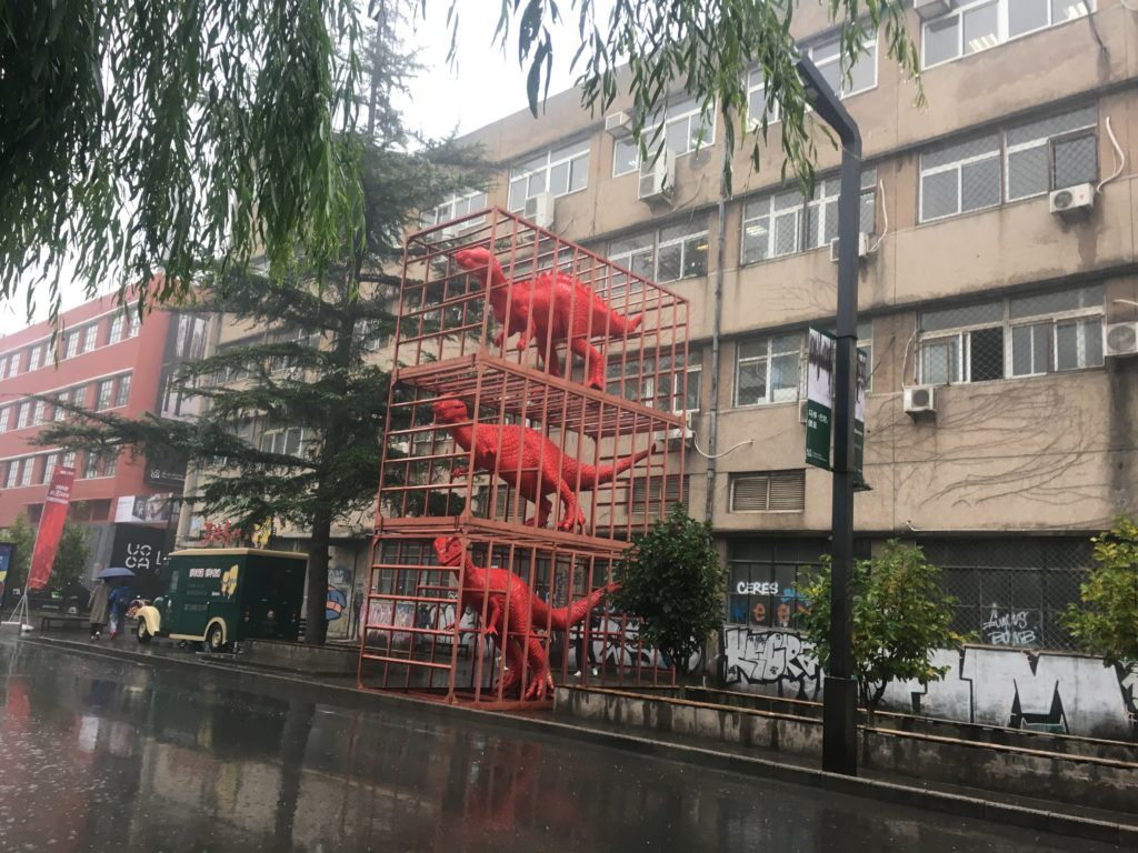 Sui Jianguo's famous Red Dinosaurs