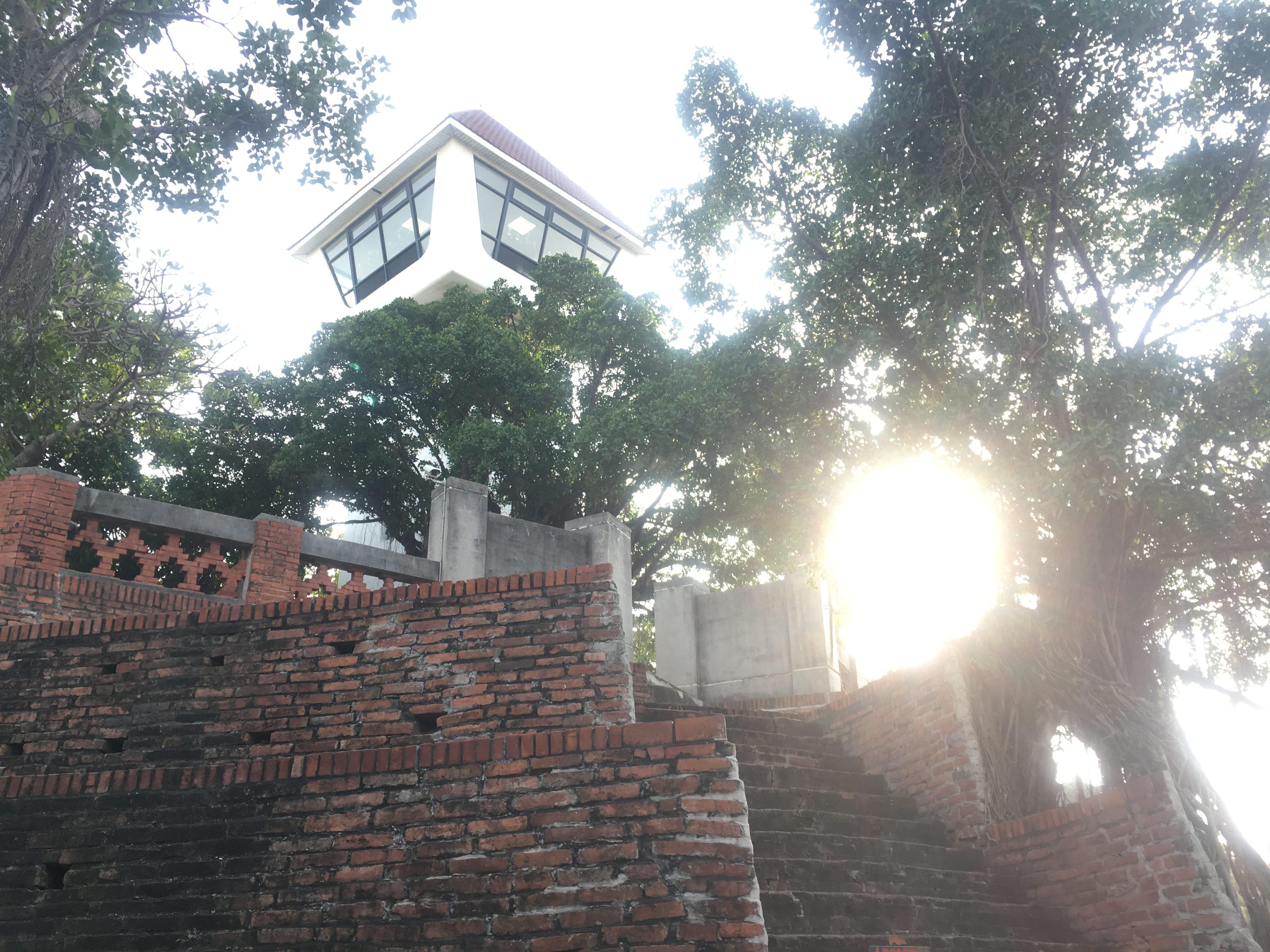 Tower at Fort Zeelandia, Tainan, Taiwan