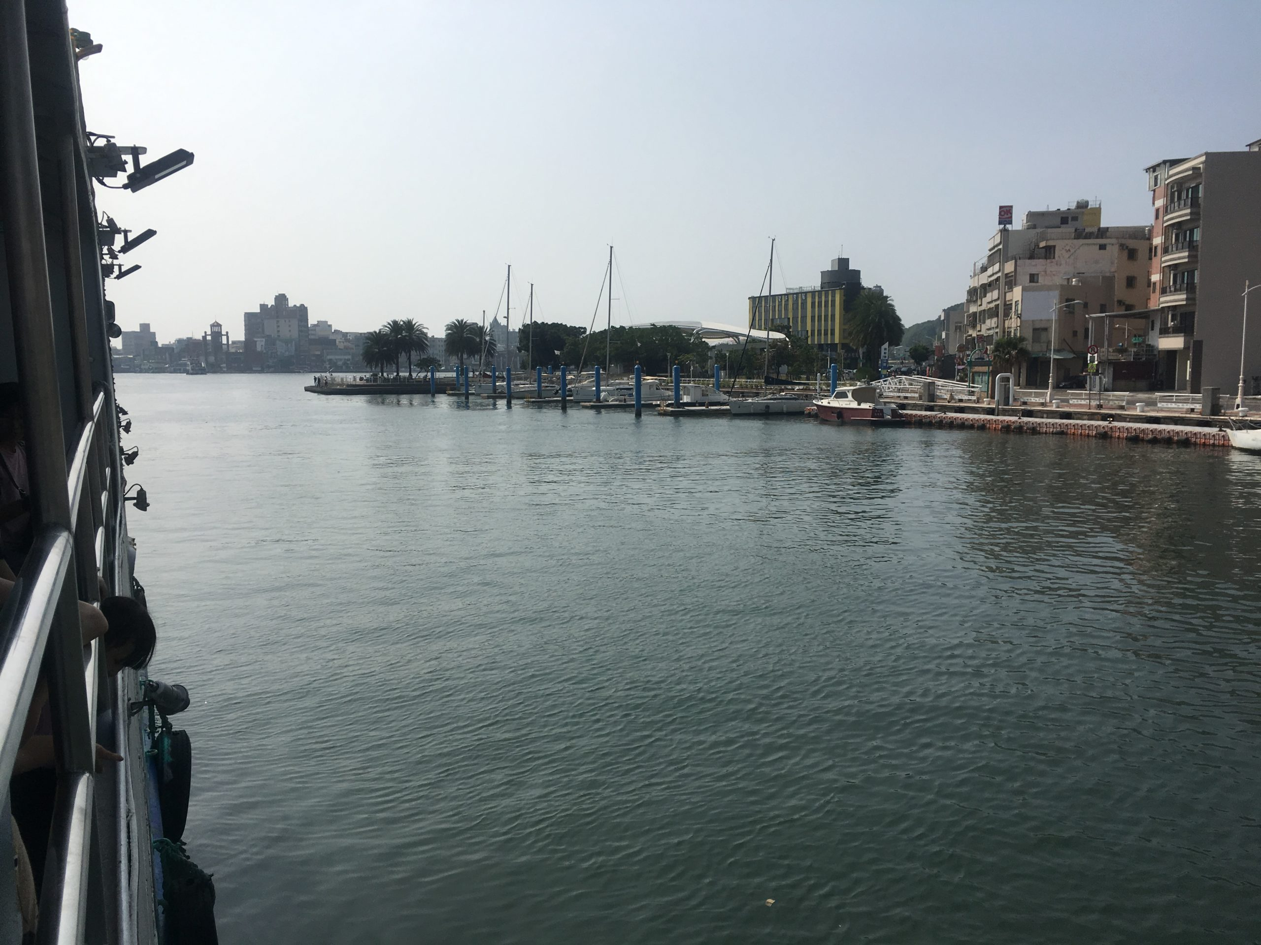 Looking towards Cijin from Kaohsiung Ferry wharf
