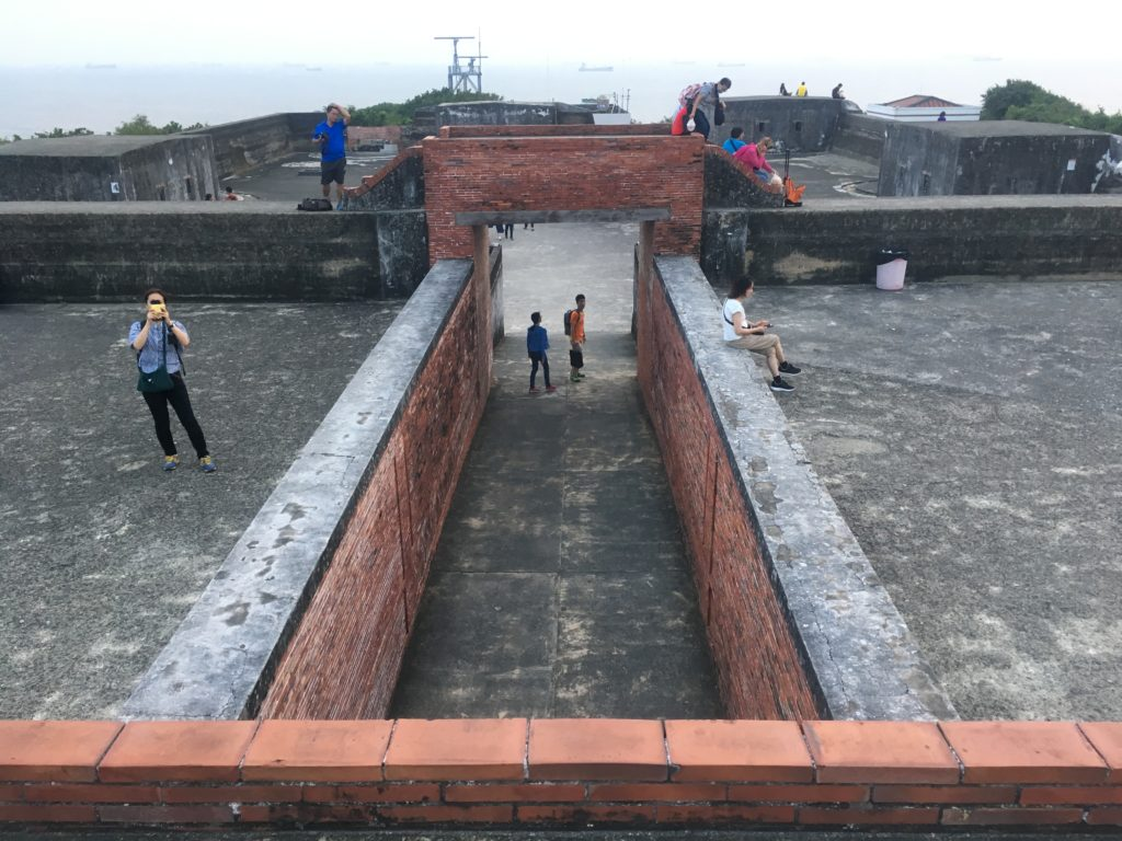 Cijin Fort at tip of Cijin Island