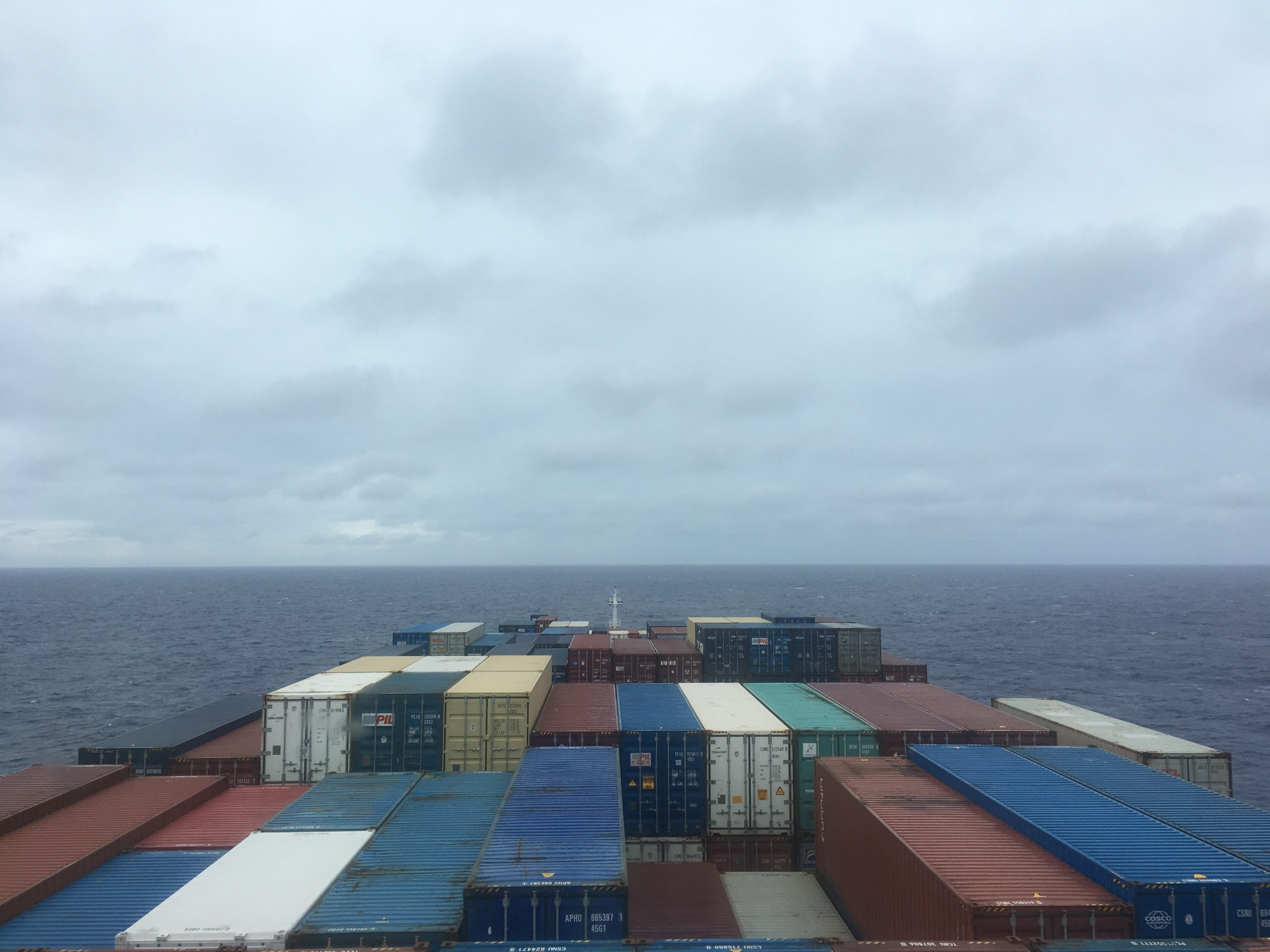 Third day at sea from CC Coral Bridge