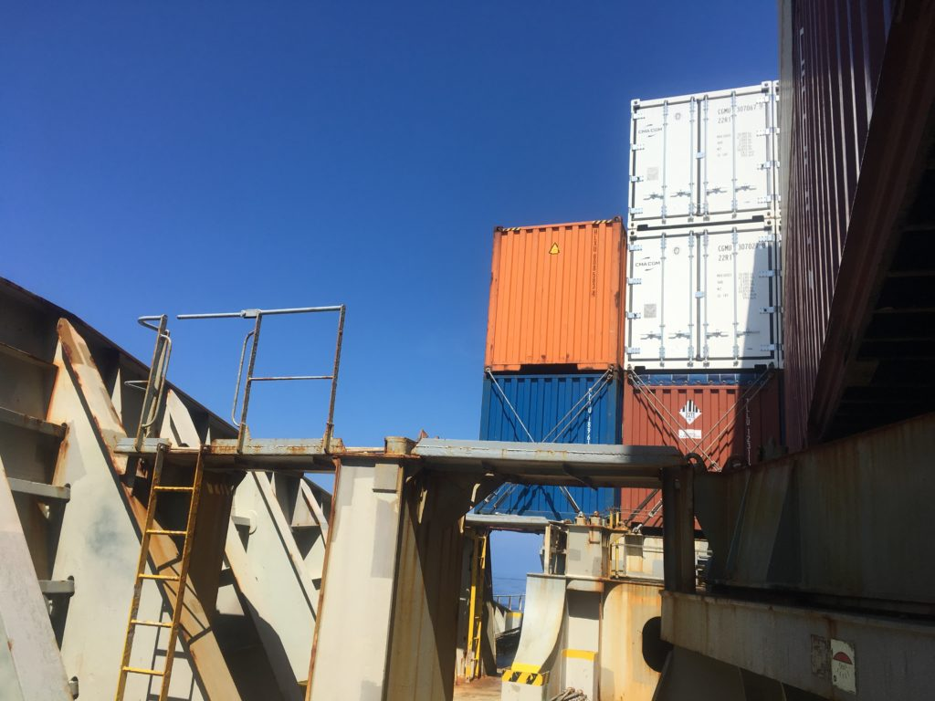Container ship CC Coral