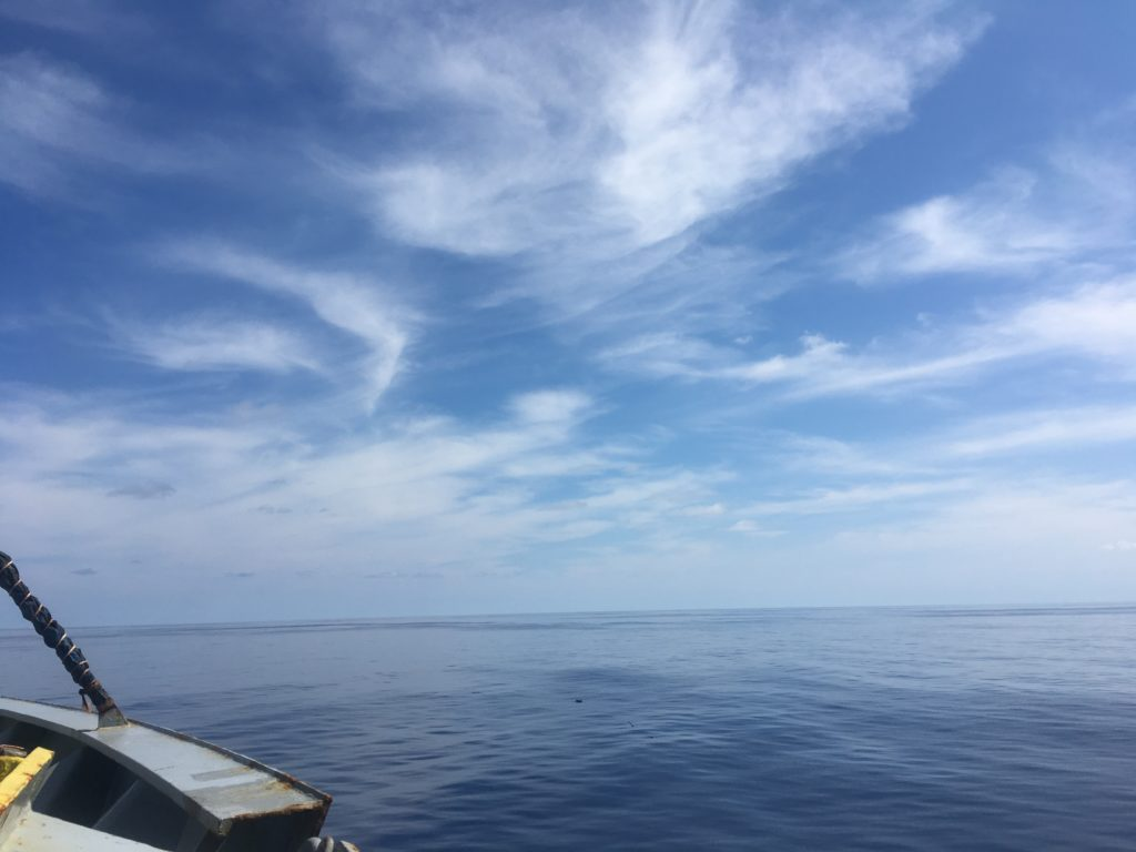 Bismark Sea and sky from CC Coral