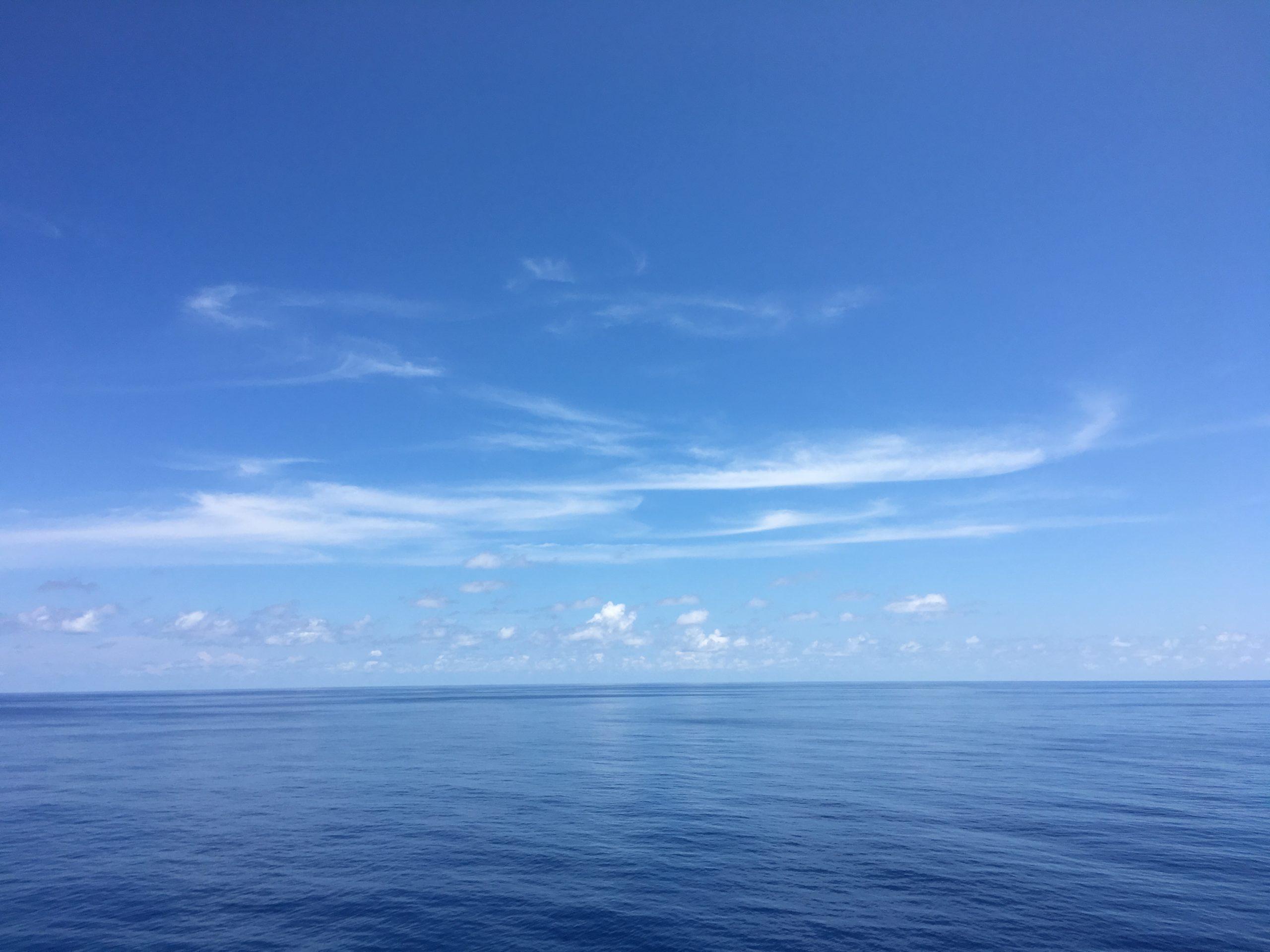 How far does the Bismark sea go?