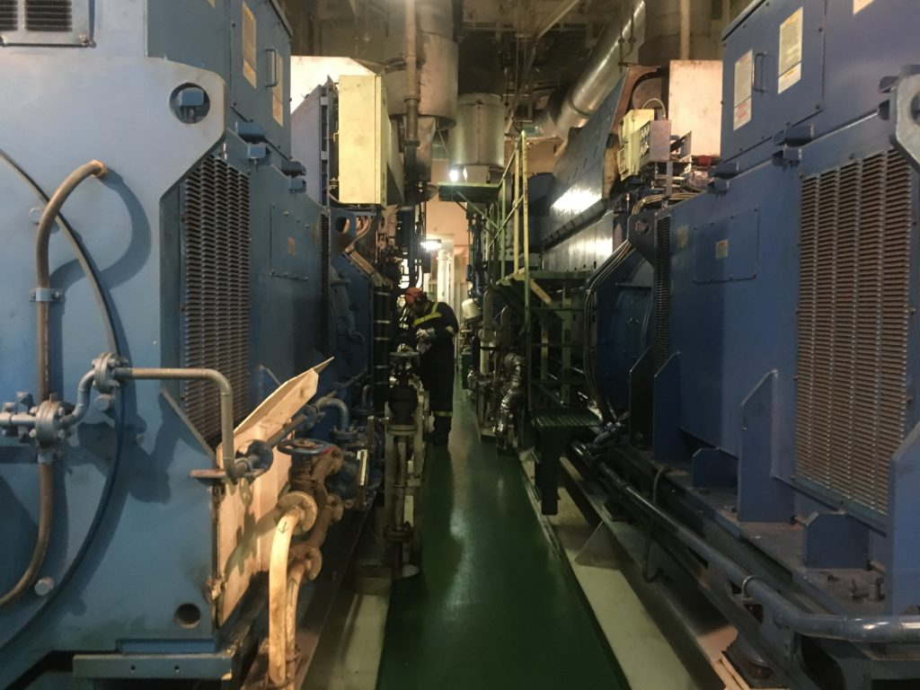 Four generators for power and airco