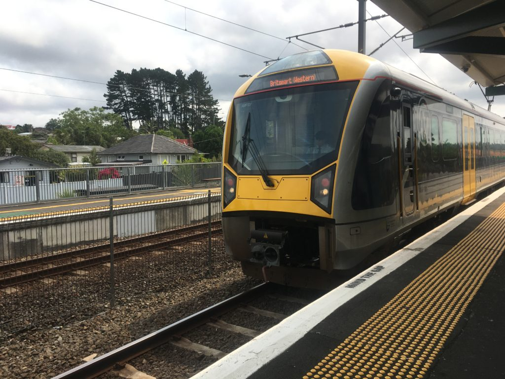 RANUI STATION on the West Auckland line