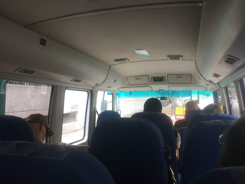 inside the Byron Easy Bus
