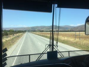Heading towards Queenstown