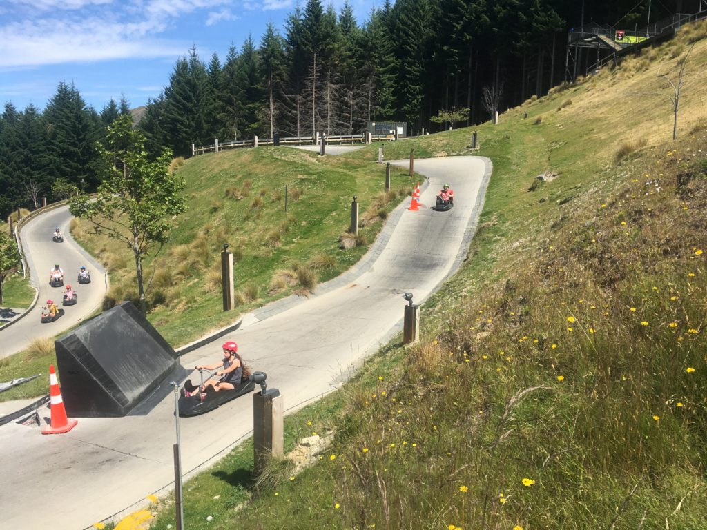 Queenstown Luge - family fun with a view