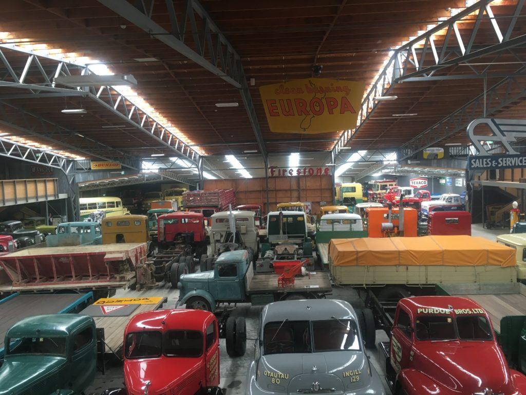 Invercargill Transport Museum is huge