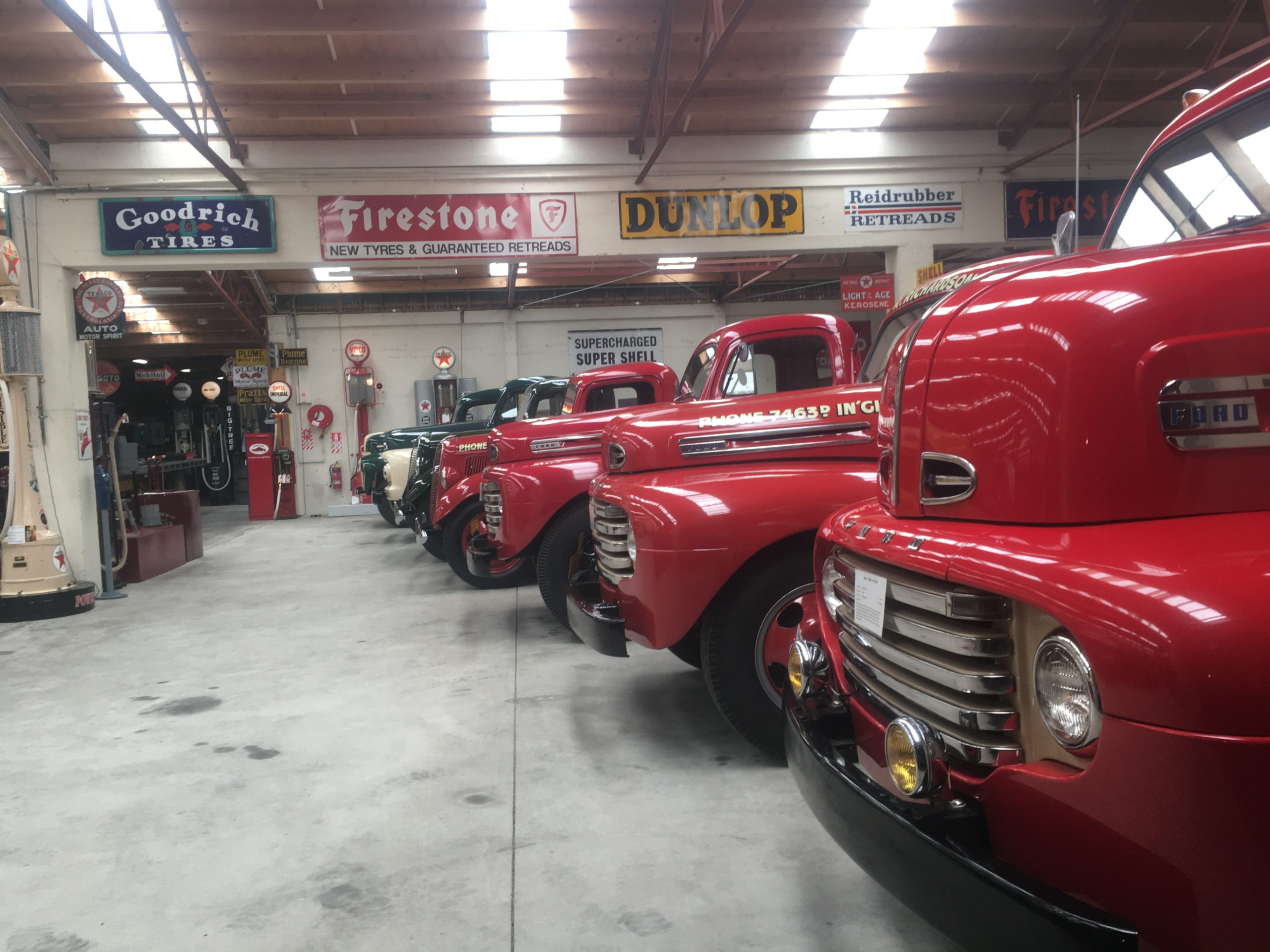 Invercargill's Transport Museum has some trucks - amongst others!