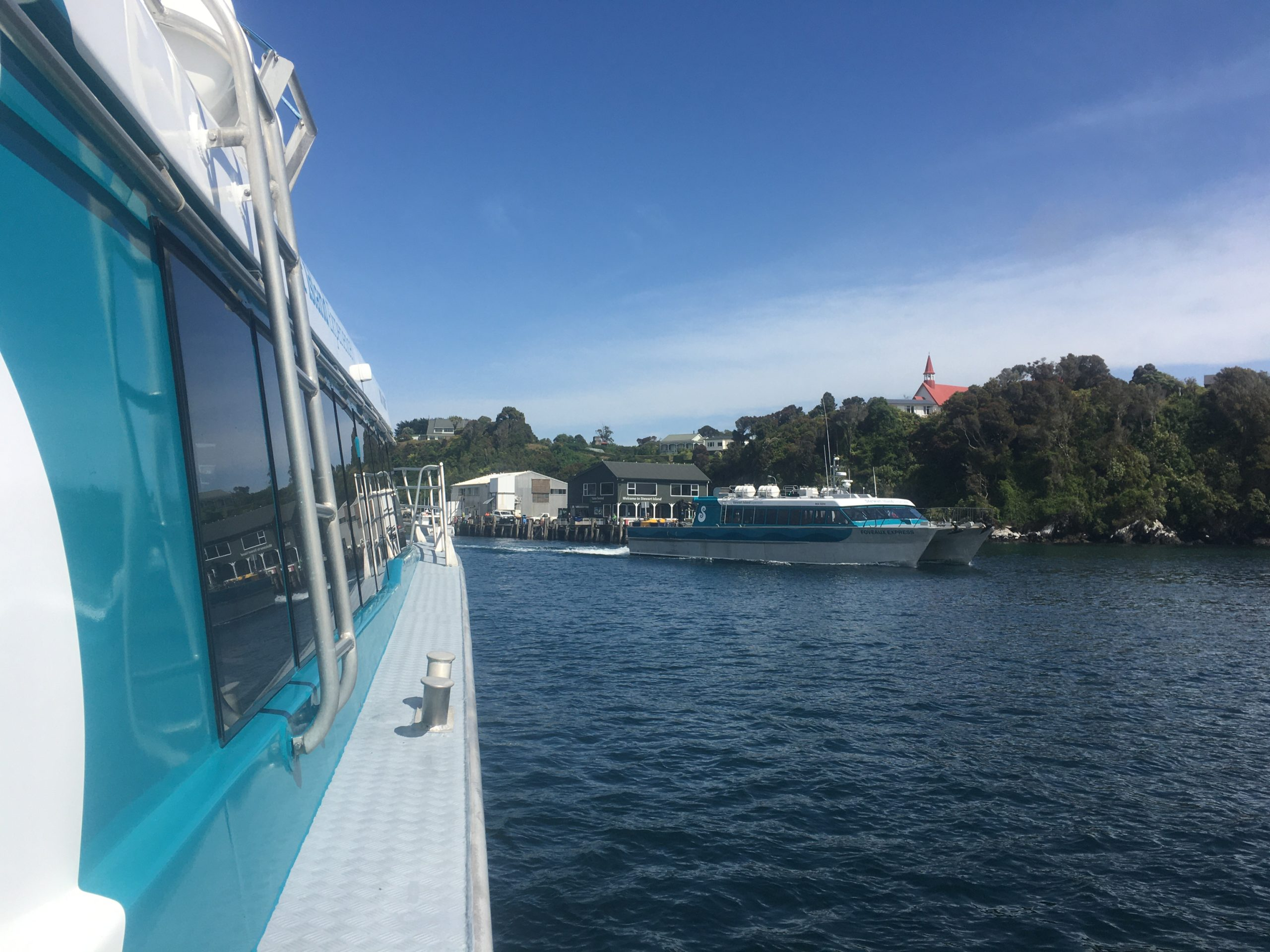 Heading into Oban harbour