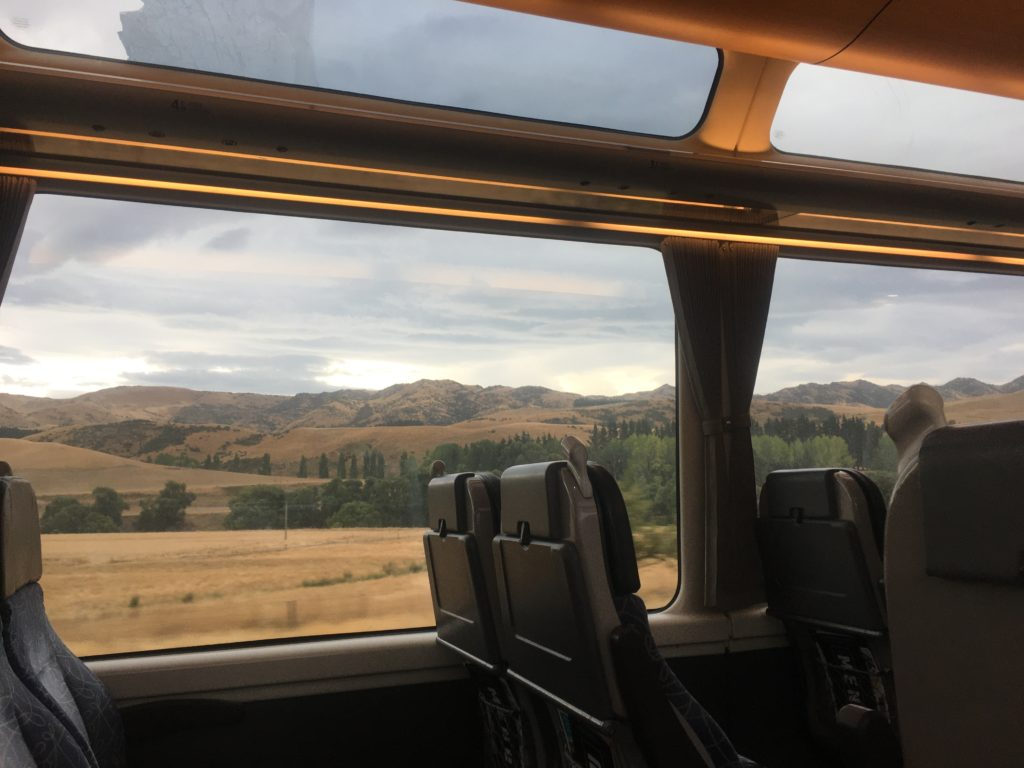 Zooming through the Canterbury plains