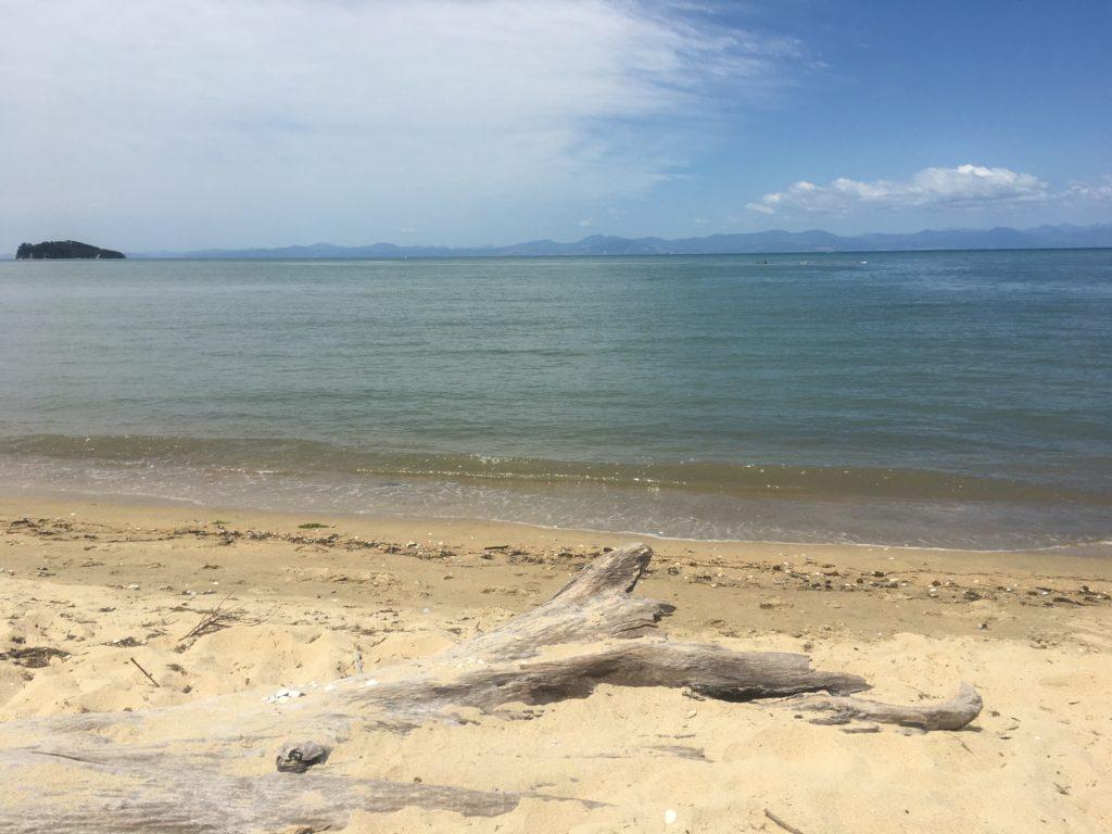 Porters Beach near Marahau in Abel Tasman Park