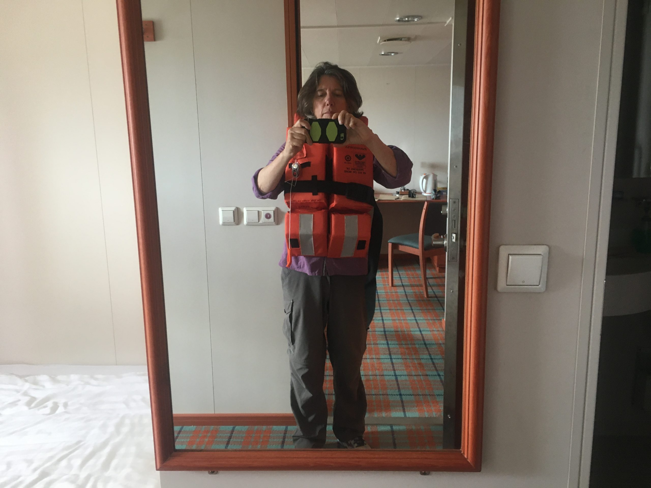 Life jacket private practice