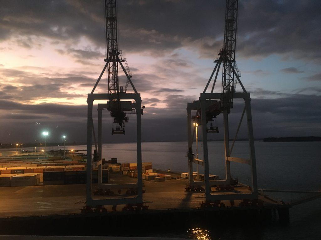 Farewell to the Port of Tauranga